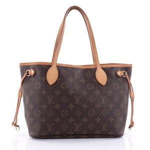 Louis Vuitton Neverfull Canvas Tote in Monogram