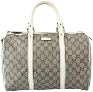 Gucci Joy Boston Speedy Bowler Doctors Satchel in GG