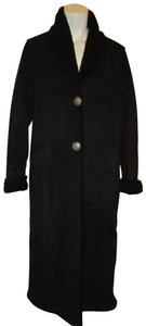 County Clothing Company Faux Suede Faux Shearling Duster Coat