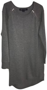 Gray / Grey Maxi Dress by French Connection Chic Sweater Shift Sleek Comfortable