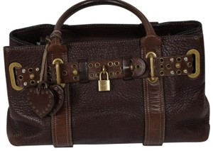 Luella Large Satchel in Brown