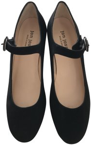 Jon Josef Designer New Spain Black Suede/Tortoise Pumps