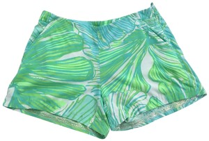 Lilly Pulitzer Dress Shorts Green Sheen - Fronds Place