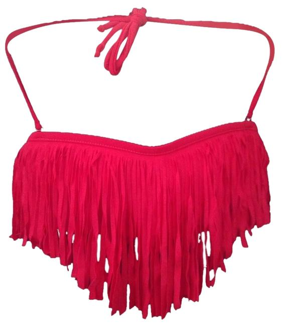 Other red tassel bikini set