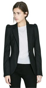 Zara Zara Woman Blazer with Gathered Shoukder