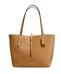 Coach Tote in light saddle