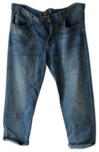 Current/Elliott Relaxed Fit Jeans-Light Wash