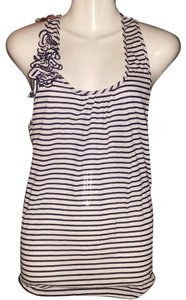Xhilaration Sleeveless Top Blue & White