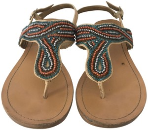 BCBGeneration Beading Strappy MULTI Sandals