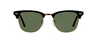 Ray-Ban RAY BAN CLUBMASTER RB 3016 BLACK -FREE 3 DAY SHIPPING-