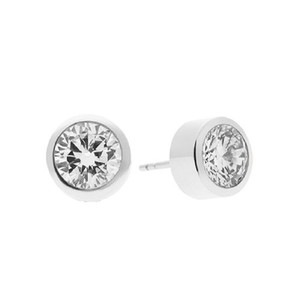 Michael Kors New Michael Kors Brilliance Crystal Stud Earrings Silver