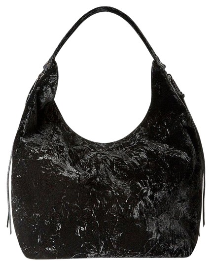 Preload https://img-static.tradesy.com/item/22665533/rebecca-minkoff-bryn-double-zip-black-velvet-hobo-bag-0-1-540-540.jpg