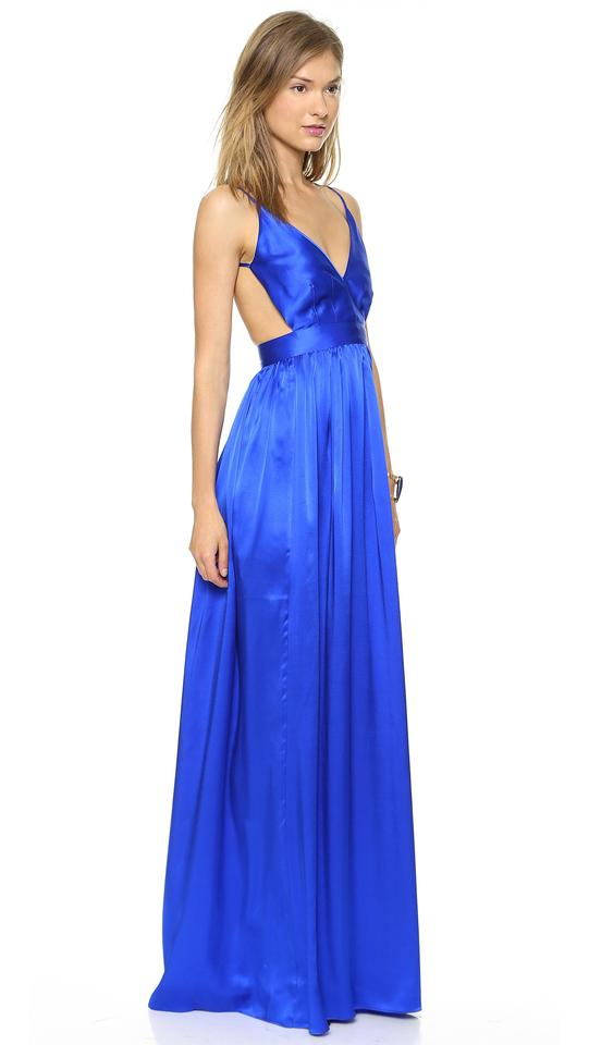 Cobalt Maxi Dress By One Contrarian