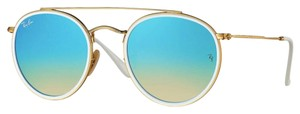 Ray-Ban RB 3647N 001/4O - Free 3 Day Shipping - Rounded Ray Ban