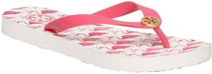Tory Burch pink white Sandals