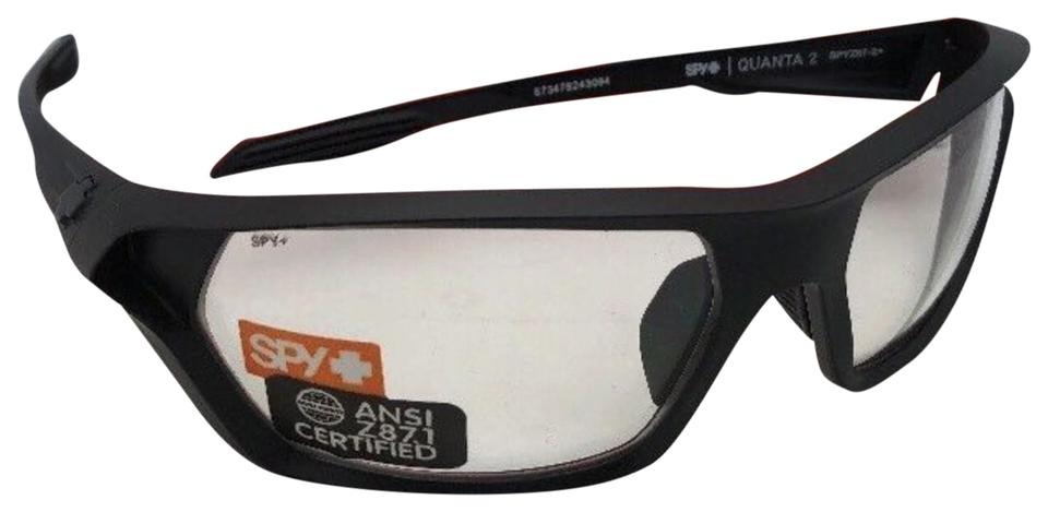 bbca6b129b Prada New Spy Optic Safety Glasses Quanta 2 Matte Black Frames W  Z87.1 W   Sunglasses