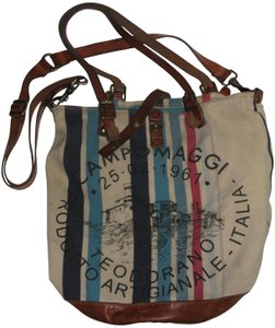 Campomaggi Beach Leather Weekend Vinyage Leather Weathered Hobo Bag