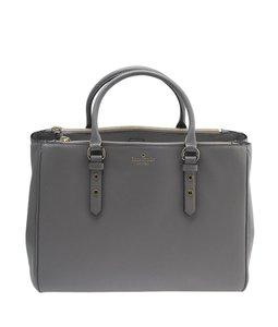 Kate Spade Leather Tote in Grey
