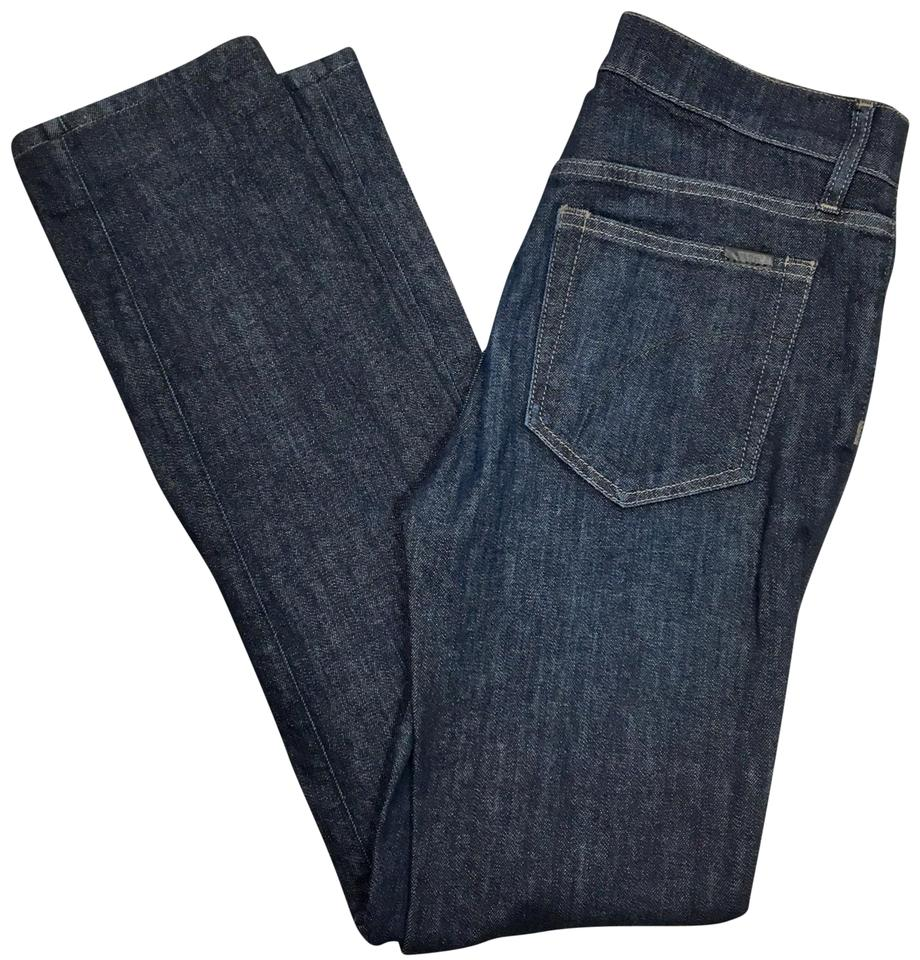 JOE S Jeans Dark Blue Rinse The Brixton Straight Leg Jeans Size 28 ... 3546ed30955