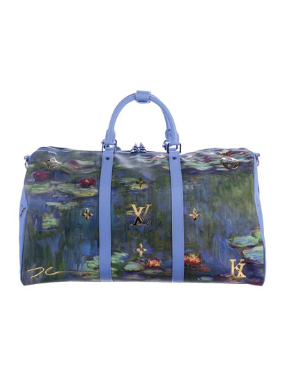 abbe474fd6af Louis Vuitton Monet Waterlilies Leather Keepall 50 Weekend/Travel Bag -  Tradesy