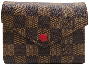 Louis Vuitton Louis Vuitton Damier Ebene Victorine Wallet