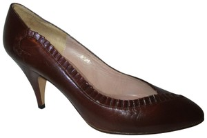 Pappagallo Leather Vintage brown Pumps