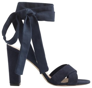 J.Crew Dark Pacific Blue Sandals