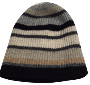 White + Warren Black, grey, camel, taupe, oyster cashmere scull cap