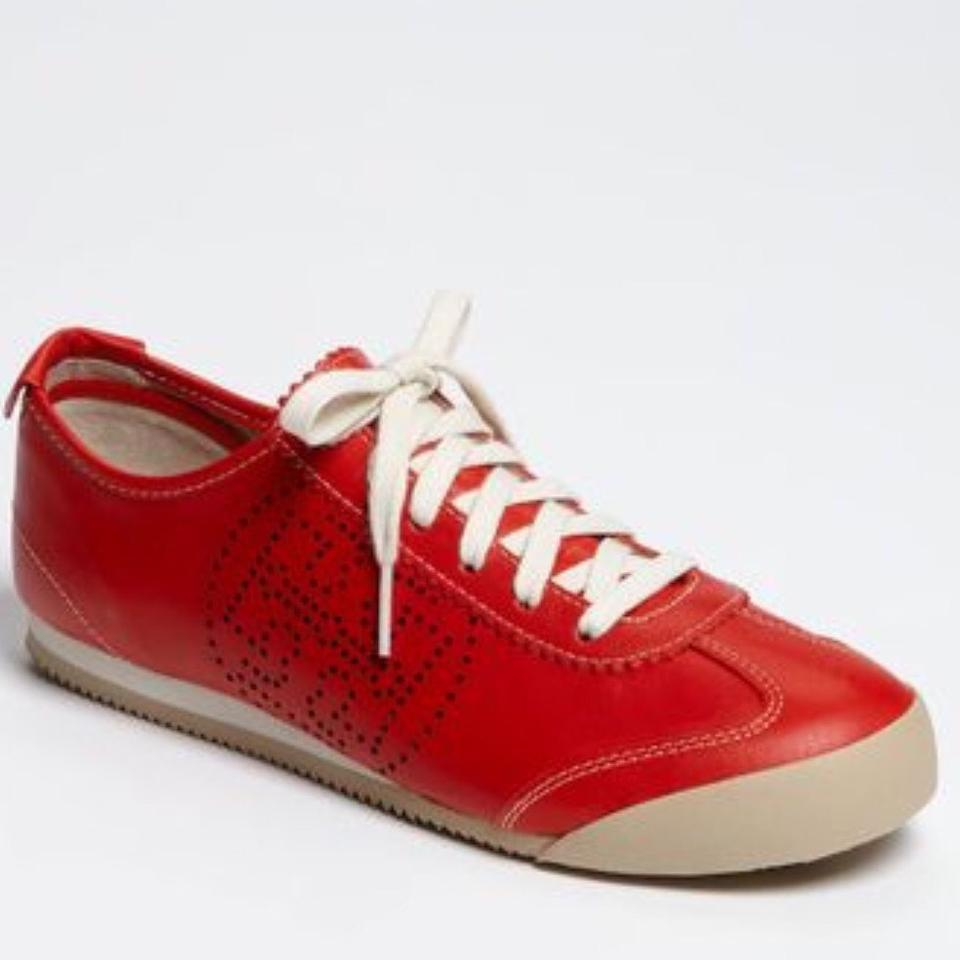 Tory Burch Red Tennis Shoes