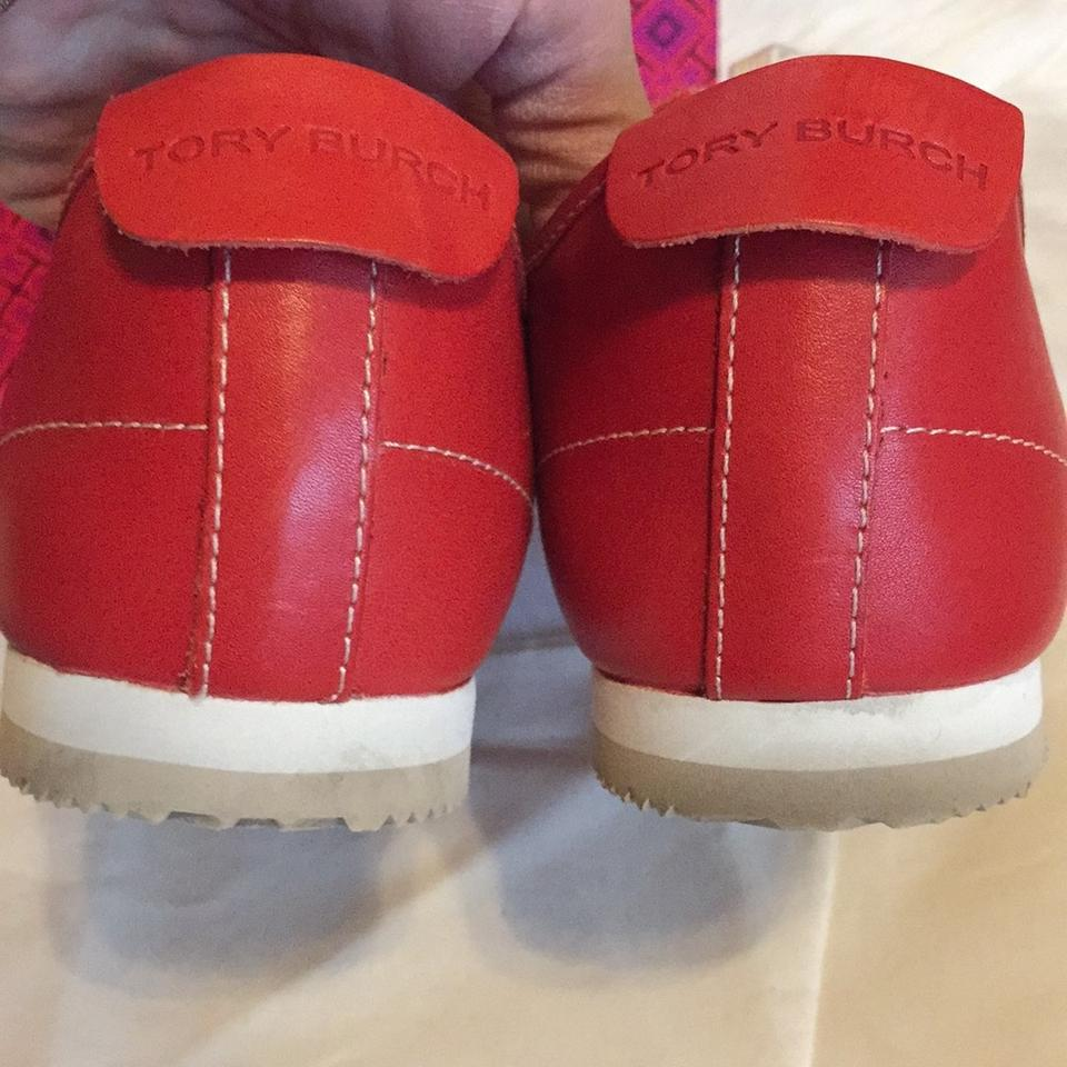 Tory Burch Red Tennis Athletic Shoes