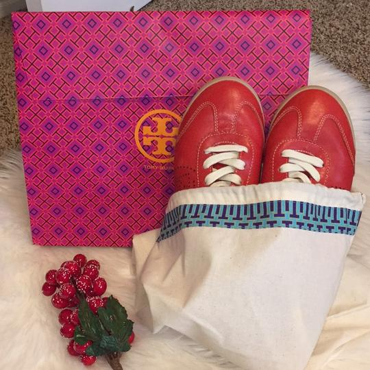 Tory Burch Red Athletic Image 11