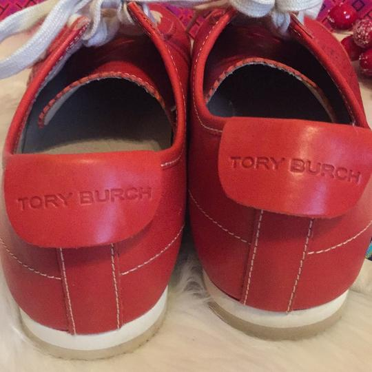 Tory Burch Red Athletic Image 4