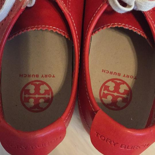 Tory Burch Red Athletic Image 5