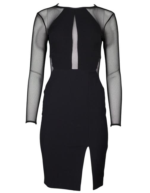 Preload https://item3.tradesy.com/images/yigal-azrouel-black-mid-length-cocktail-dress-size-2-xs-22669317-0-0.jpg?width=400&height=650