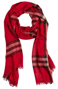 Preload https://item1.tradesy.com/images/burberry-parade-red-ladies-lightweight-check-wool-and-silk-pattern-scarfwrap-22669495-0-1.jpg?width=440&height=440