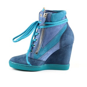 Nando Muzi Turquoise/Purple Wedges