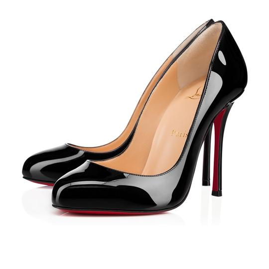 Preload https://item2.tradesy.com/images/christian-louboutin-black-merci-allen-385-patent-round-pumps-size-us-85-regular-m-b-22669686-0-0.jpg?width=440&height=440