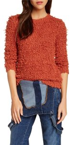 Free People Burnt Knobbly Knit Sweater