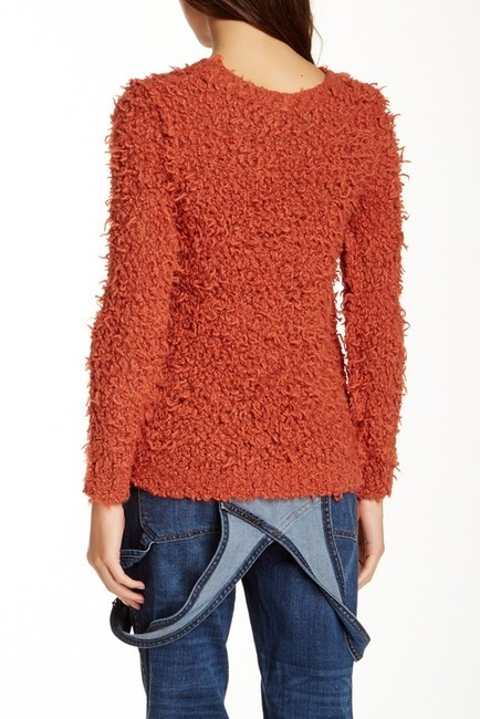 Free People Burnt Knobbly Knit Casualwear Bohemian Chic Sweater