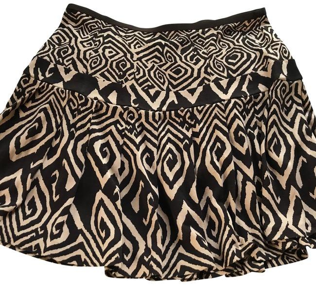 Item - Brown and Tan Dvf Skirt Size 2 (XS, 26)