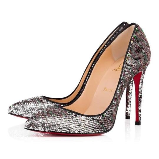 Preload https://item3.tradesy.com/images/christian-louboutin-silver-pigalle-follies-paillettes-sequin-stiletto-pumps-size-eu-385-approx-us-85-22669902-0-0.jpg?width=440&height=440