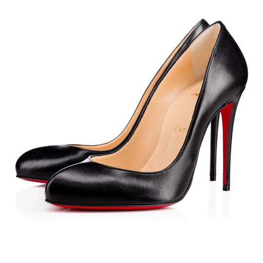 Preload https://item4.tradesy.com/images/christian-louboutin-black-breche-leather-100mm-pumps-size-eu-375-approx-us-75-regular-m-b-22669903-0-0.jpg?width=440&height=440