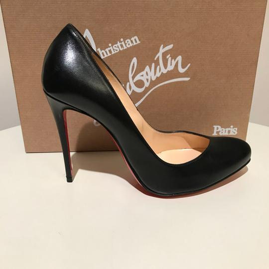 Christian Louboutin Simple Size 37.5 Breche Black Pumps