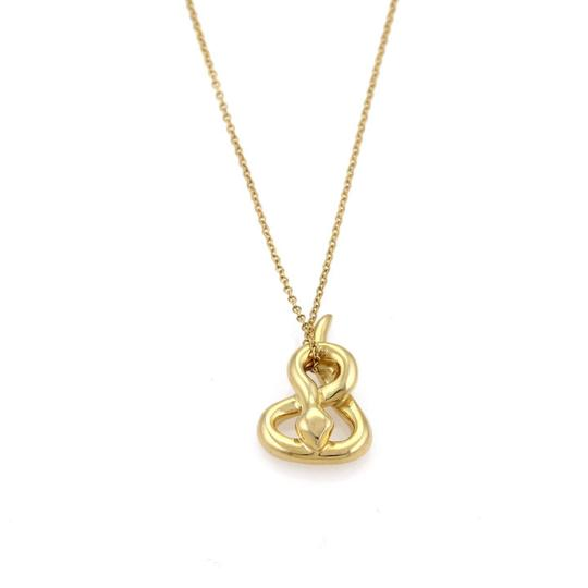 Preload https://item1.tradesy.com/images/tiffany-and-co-yellow-gold-peretti-snake-pendant-chain-necklace-22669975-0-0.jpg?width=440&height=440