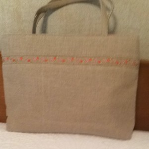 Kate Spade Natural Tote in Linen