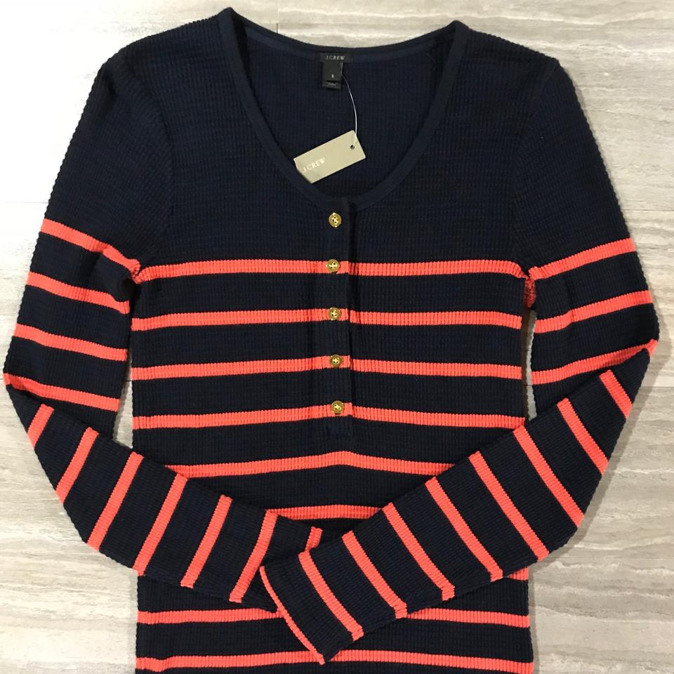J And J Corals J.Crew Navy Blue Coral...