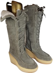 See by Chlo taupe gray Boots