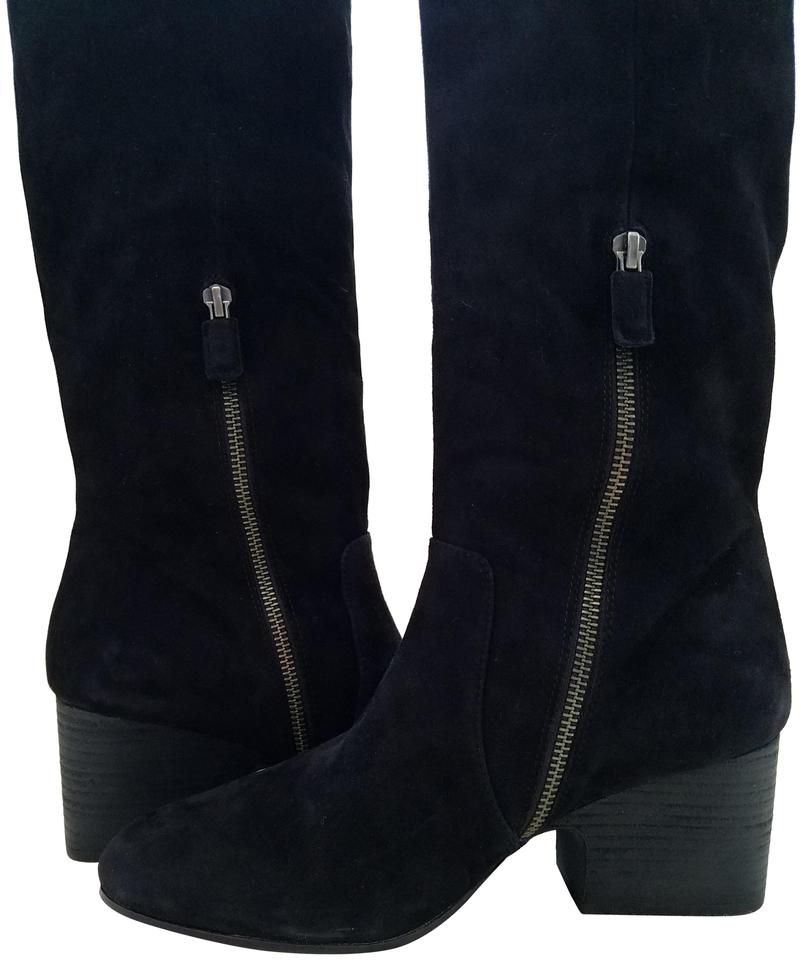 Eileen Fisher Black Black Fisher Tall Suede Boots/Booties d8b3d8