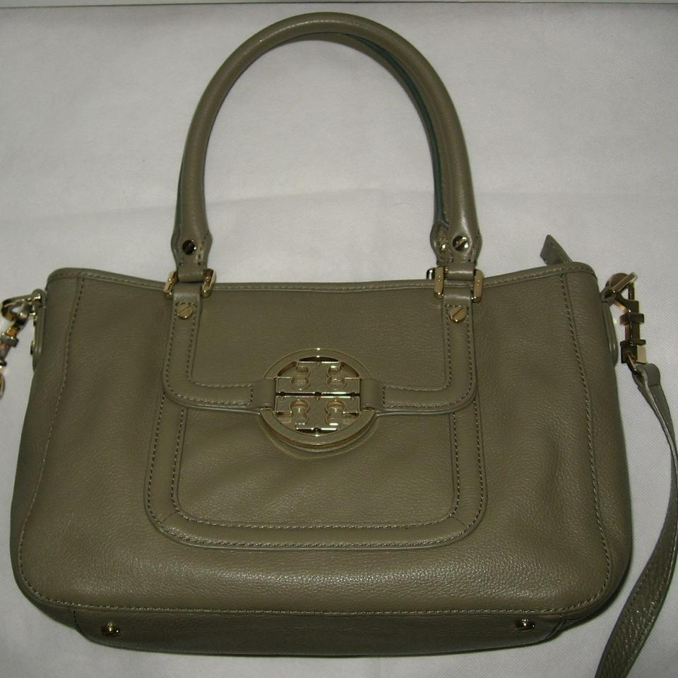 Amanda Olive Shoulder Leather Tory Bag Grey Burch Crossbody xSqR6