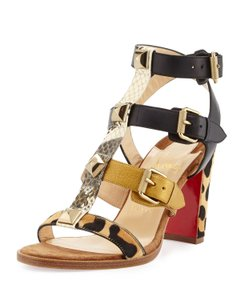 Christian Louboutin Rocknbuckle Sandal multi Pumps